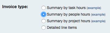 Invoice Type on Invoice