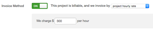 Project Hourly Rate